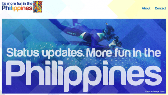 Status Updates is more fun in the Philippines