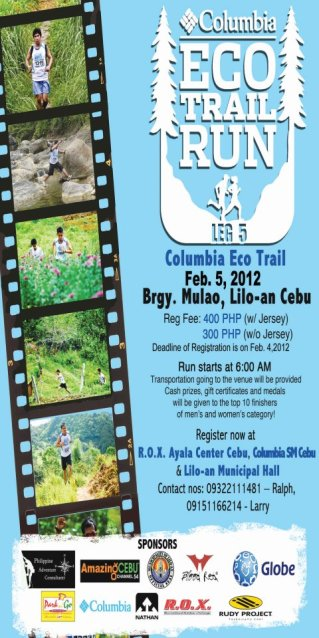 Columbia Eco Trail Run