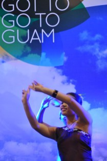 Guam Booth at the Travel Expo Philippines