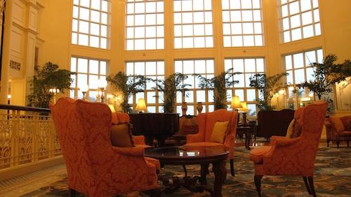 disneyland lobby hotel