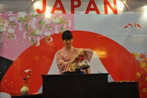 Japan Booth at the Travel Tour Expo