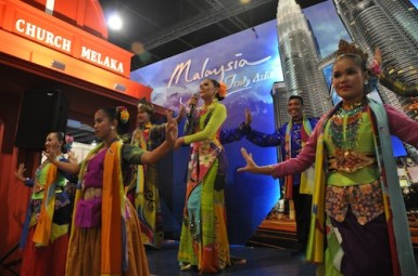 Malaysia Truly Asia Booth