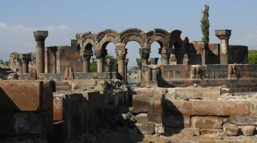 Zvartnots Cathedral Ruins