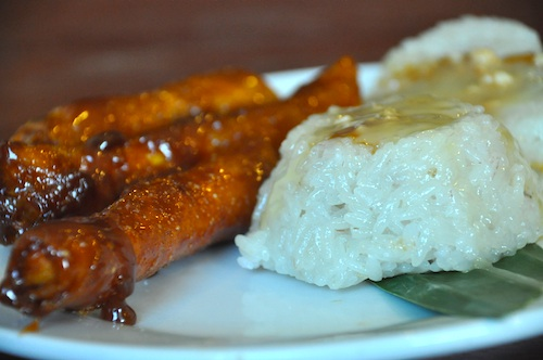 Bibingka Malagkit and Turon