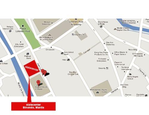 Binondo Bodega Sale Map