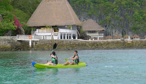 kayaking palawan island