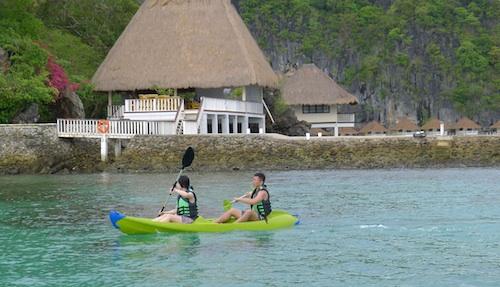 Kayaking in Apulit Island