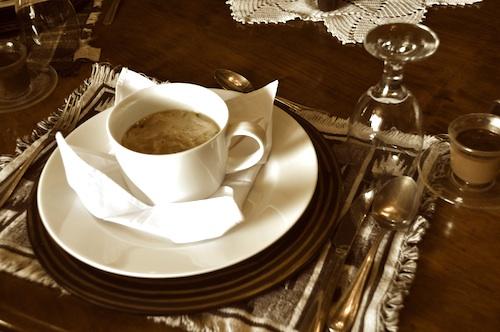 Fine Dining circa 1865
