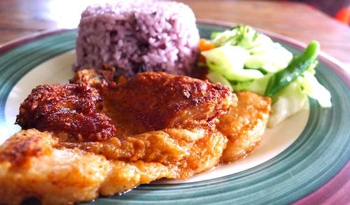 Delicious Porkchop at Shamrock