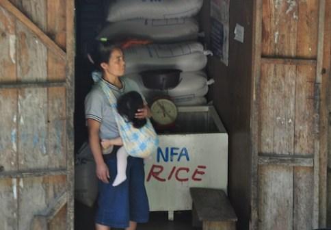 NFA Rice in Banaue