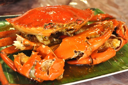 Spicy Chili Crabs