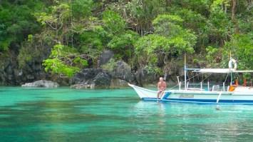 Tourists in Big Lagoon
