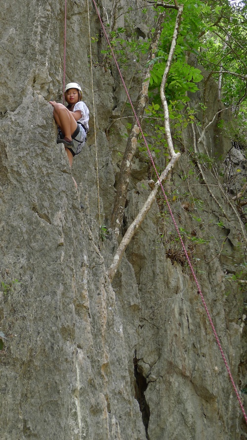 wall climbing el nido