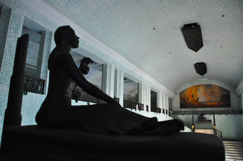 Beautiful Statue in the Grand Hall