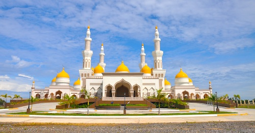 The Golden Mosque in Cotabato City