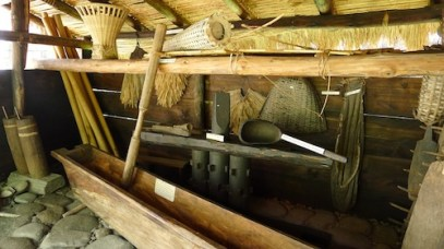 Interior of a Traditional Bontoc House