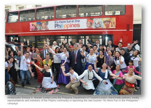 london buses its more fun in the Philippines