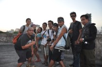 Travel Bloggers Exploring the Metropolitan Theatre Manila