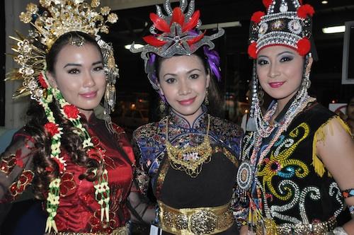 Beautiful Malaysian Ushers