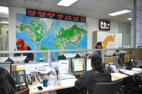 Chartis Regional Office in Kuala Lumpur