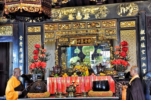 Chinese Temple Altar