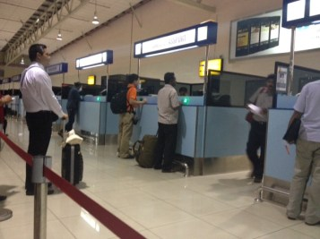 Line at the Malaysian Immigration