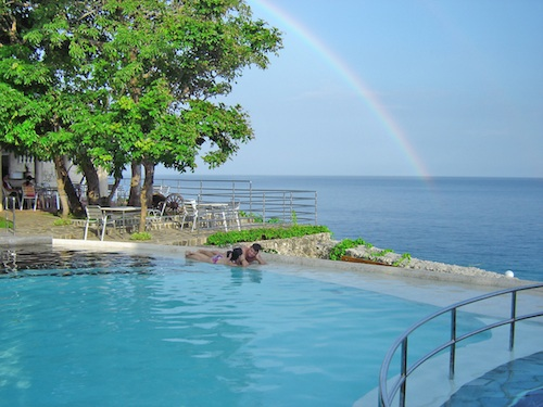 Rainbow and Infinity Pool