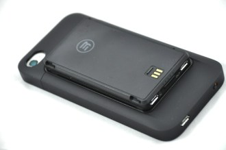 iPhone Case with detachable external battery