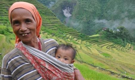 An Ifugao Lady in Batad