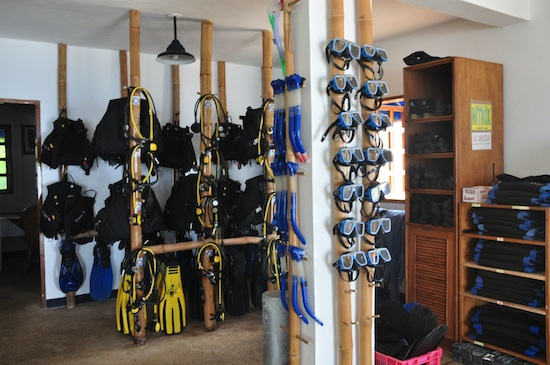 Coco Grove Beach Resort Dive Shop