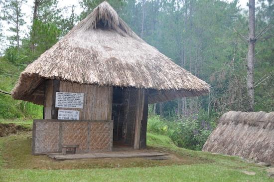 Ifugao Hut in Banaue Ethnic Village