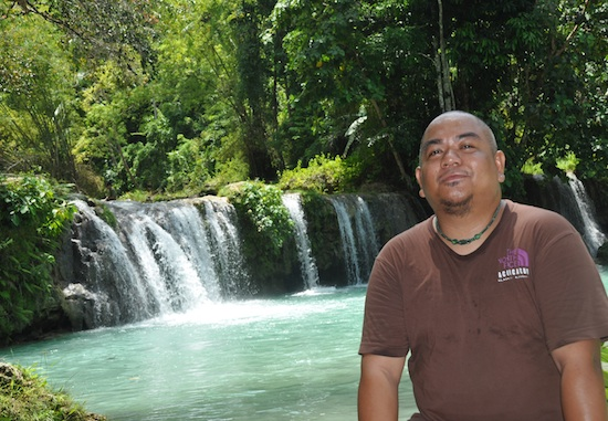 Melo in Cambugahay Falls