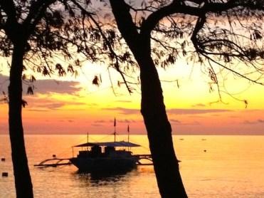 Sunrise in Sumilon Island