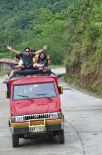 Voluntourists in Ifugao