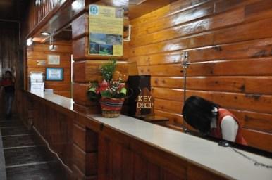Banaue Hotel Reception Area
