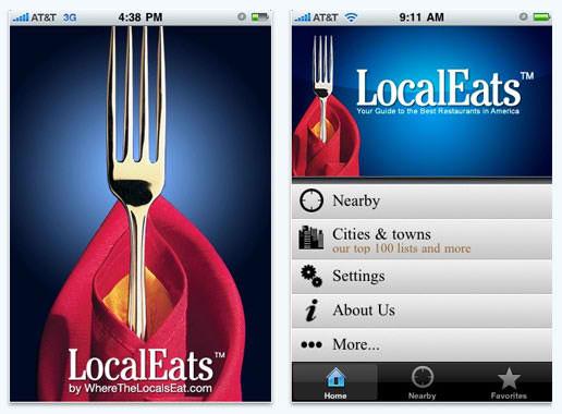 LocalEats iPad App