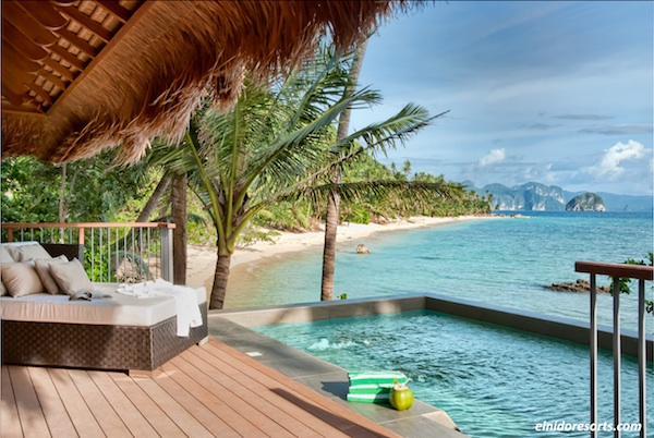 beach resorts with pool