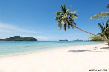 Pangulasian Island Resort - Beach Area