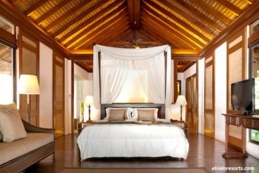 Pangulasian Island Resort Bedroom Area
