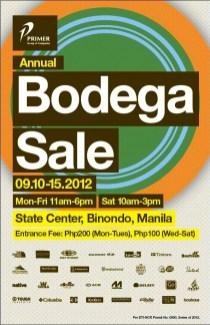 Primer Group Bodega Sale in Binondo 2012