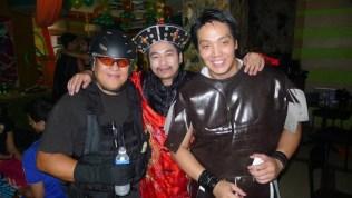 Benjo Ramos, Ted Tarriela, Raymond Yap
