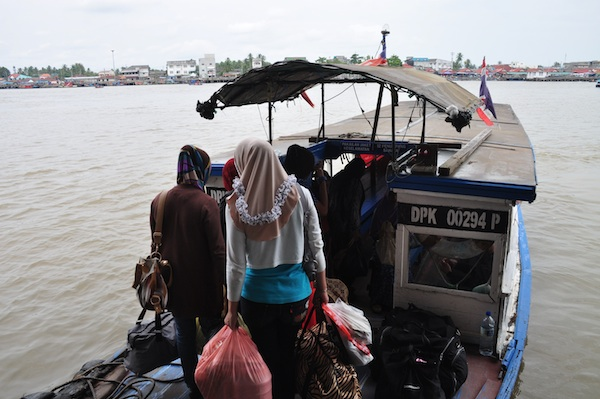 Boat Ride to Thailand