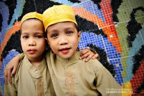 Kids at Quiapo Mosque