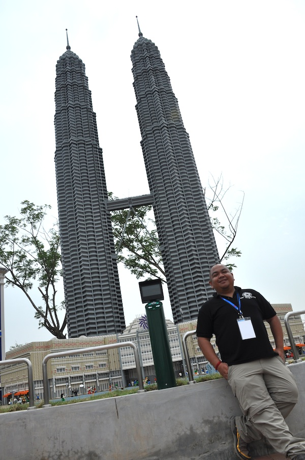 Lego Model of Petronas Twin Towers