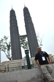 Lego Model of Petronas Twin Towers