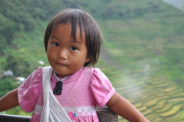 Young Ifugao in Batad