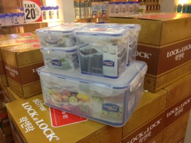 Plastic Containers Gift Pack