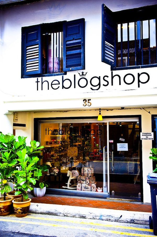 The Blog Shop @ Haji Lane
