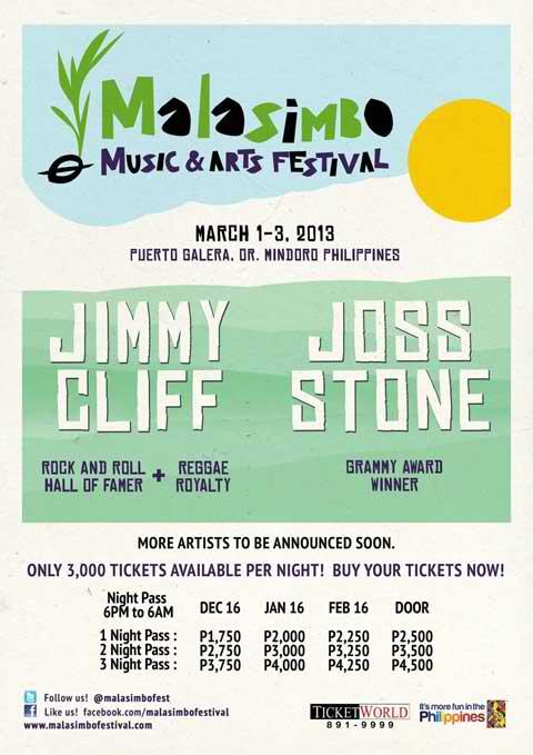 Malasimbo Arts and Music Festival 2013