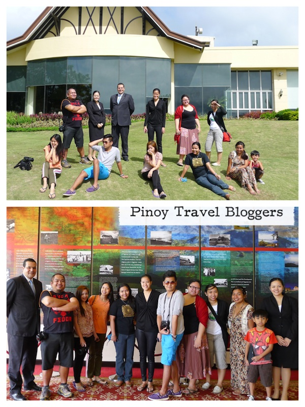 Pinoy Travel Bloggers in Taal Vista Hotel